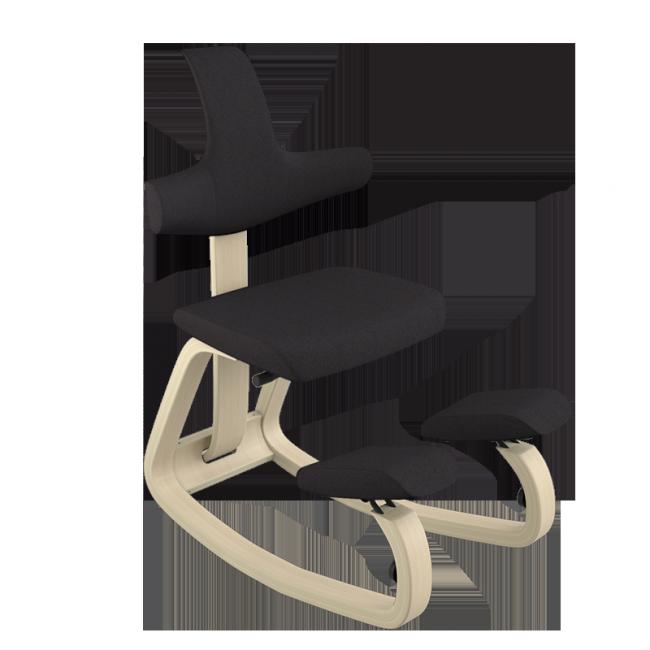Sedia ergonomica Thatsit ™ Balans® con feltri protezione